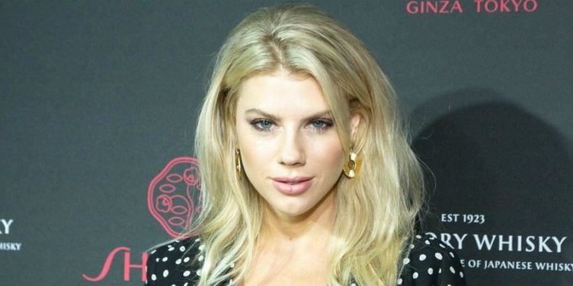Charlotte Mckinney Dons Red Hot Lingerie As Sneak Peek Of Her New
