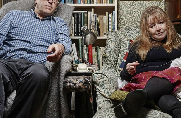 Who are Gogglebox's eccentric couple Giles and Mary? | Movies and TV