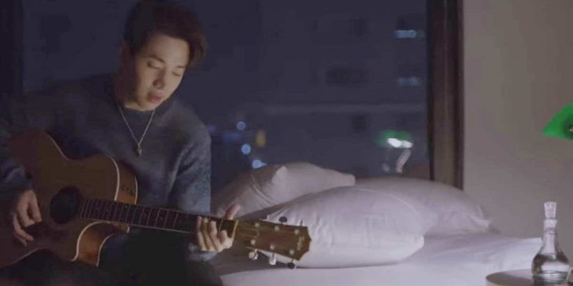 Henry serenades his love in Untitled Love Song, his first