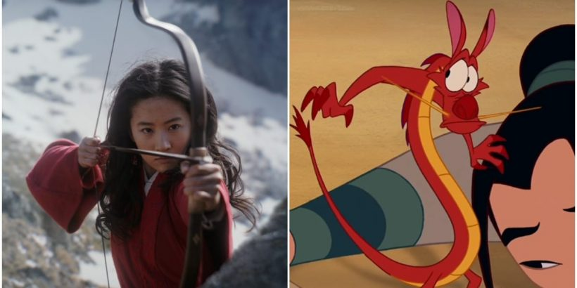 Is There No Mushu In The New Mulan Disney S Live Action Trailer Lacks A Famous Dragon Movies And Tv